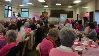 Pink Ribbon Breakfast - a  great success $$$3000 raised