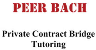 Peer Bach, private contract bridge tutoring