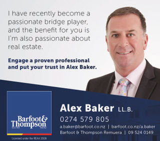 Alex Baker, Barfoot and Thompson Remuera