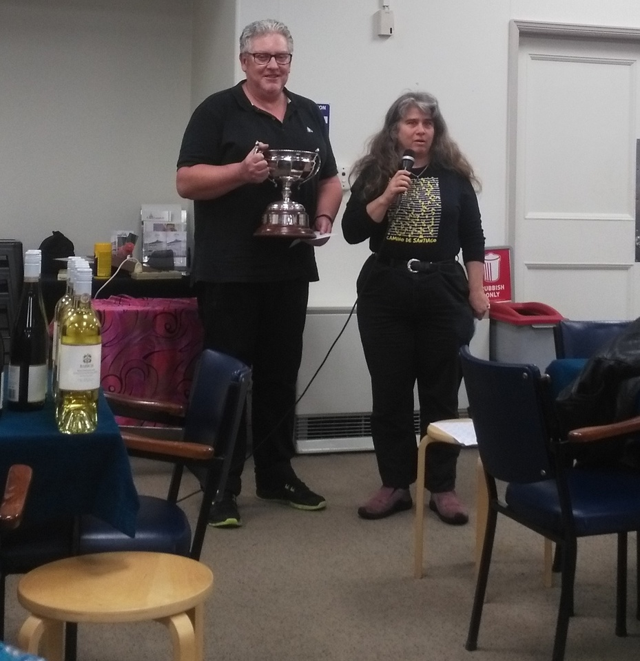 Saturday 3rd August photos, above are the Winners of The Billie Tohill 3A Pairs