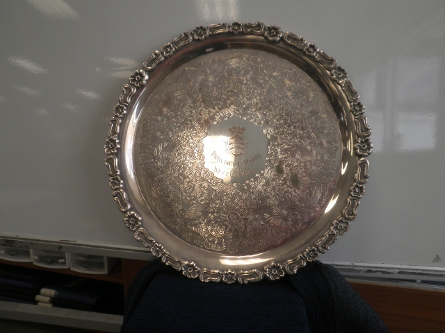 West End Salver (QB)